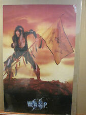 vintage 1984 Wasp W.A.S.P. original rock band poster music artist  band 11936