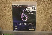 Ps3 Resident Evil 6 (PlayStation 3, 2012)  New Sealed