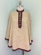 Vintage Lanz Original Wool Cape Lined Excellent One Size S M L Anthropologie ish