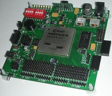 XILINX VIRTEX-4 XC4VFX100 FPGA kit. Development board XKF4