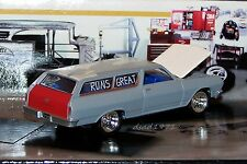 1965 65 CHEVY CHEVELLE PROJECT WAGON 1/64 SCALE DIECAST MODEL COLLECT  - DIORAMA