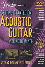 Fender: Getting Started on Acoustic Guitar (2002, DVD NIEUW)