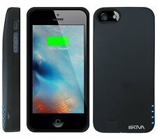 Skiva PowerFlow 2000mAh iPhone 5/5s Protective Rechargeable Battery Case(AP104)