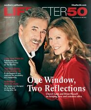 LIFE AFTER 50 MAGAZINE CHERYL LADD BRIAN RUSSELL COVER FEB 2014 OUT OF PRINT