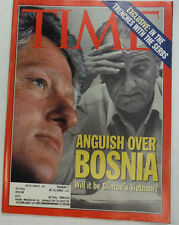 Time Magazine Anguish Over Bosnia May 1993 060315R