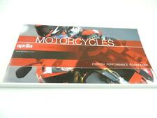 2000/2001 Aprilia Scooters Catalog Scarabeo 150 SR 50 RS 50 Motorcycle L2569