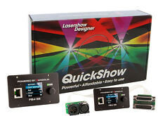 Laserdesigner Pangolin QuickShow 3.0 mit Flashback 4 MAX LAN Interface, FB4