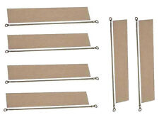 6x 200mm Impulse Sealer Heat Wire Element & Teflon Tapes 4 Heat Sealing Machines