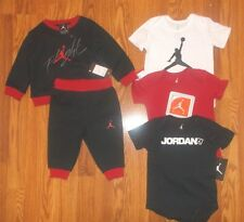 NWT NIKE AIR JORDAN Lot 6/9/12 MONTH Boys Retro Jogging Suit & 3 One pc Outfits