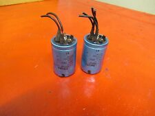 PHILIPS CAPACITOR 2222 050 59222 DIN 41238 2200UF 100V VOLTS LOT OF 2 USED