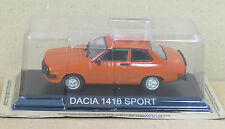 "DIE CAST "" DACIA 1410 SPORT "" LEGENDARY CARS SCALA 1/43"
