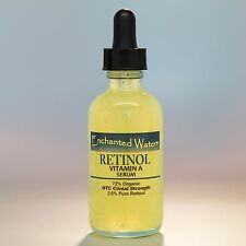 PURE RETINOL VITAMIN A 2.5% Anti Aging Wrinkle Acne Facial Face Serum / Cream