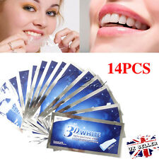 28 Pro Effects Professional 3D Teeth Whitening Strips Enamel Safe 14 Pouches