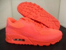 MENS NIKE AIR MAX 90 HYP HYPERFUSE SOLAR RED PINK-BLACK SZ 10 [653603-992]