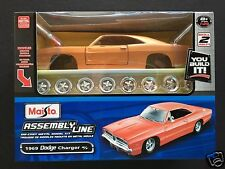 Maisto Assembly Line 1/25(≅1/24) diecast kit #01024:DODGE 1969 CHARGER R/T Coupe