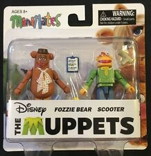 Disney The Muppets MiniMates Fozzie Bear Scooter New 2015