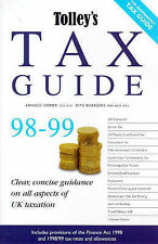 Tolleys Tax Guide: 1998-99,ACCEPTABLE Book
