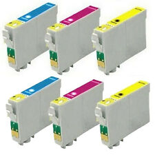 6 Pack NON OEM T200XL  COLOR Ink Cartridges  FOR Epson Expression XP 210 310 410