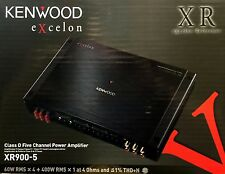 NEW Kenwood XR900-5  5-Channel eXcelon Series Full Range Power Amplifier