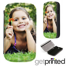 Personalised Samsung S3 i9300 Phone Flip Case Cover Custom Photo Create Your Own
