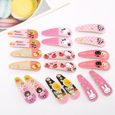 8pcs Mixed Colors Cartoon Cute Baby Girls Kids Children Hair Pin Hair Clips