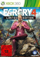 Microsoft xbox 360 jeu Far Cry 4 -- Limited Edition usk 18