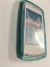 Sony Ericsson Vivaz U5a, U5i Kurara TPU Jelly Case Cover in Blue JCSEVIVAZBP-A