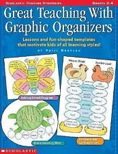 Great Teaching with Graphic Organizers Grades 2-4 Writing Templates Instruction
