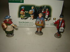 Dept 56 Dickens Village - Street Merchants - Set of 3 - NIB