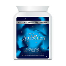 TRUE ATTRACTION PHEROMONE PILLS FOR MEN – MAKES YOU IRRESISTIBLE TO WOMEN