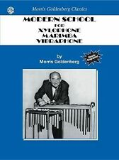 MODERN SCHOOL FOR XYLOPHONE,  - ANTHONY CIRONE MORRIS GOLDENBERG (PAPERBACK) NEW