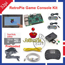 Raspberry Pi 3 Model B 32GB RetroPie Game Kit with 7 Inch 1024*600 Touch Screen