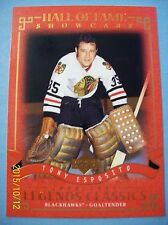 "2004-05 UD Legends Classics ""Hall of Fame Showcase"" # 91 Tony Esposito!"