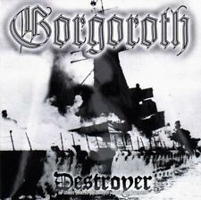 Gorgoroth - Destroyer CD 1998 black metal Norway Nuclear Blast press
