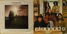 Lot of 2 IRISH Folk LPs CLANNAD Clannad 2 & MAGICAL RING  Máire Ní Bhraonáin