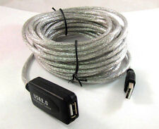 5 meter USB 2.0 Active Repeater Male to Female Extension Cable Adapter Cord AU