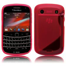 S-Line S Shape TPU Rubber Gel Case Cover Skin for Blackberry Bold 9900 / 9930