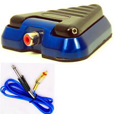 TRAGO Tattoo Foot Pedal Switch with Silicone RCA Cord 88-0050-05