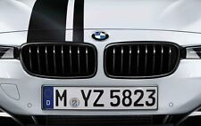 BMW M Performance Genuine Front Pair of Kidney Grilles Black F32/F33/F36