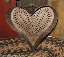 HEART Cheese Grater MOLD*Primitive/French Country Kitchen Decor*Valentine Gift!