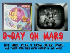 D-DAY ON MARS PLAN 9 FROM OUTER SPACE STYLE CHEESE SUPER 8mm FILM  ORIGINAL BOX