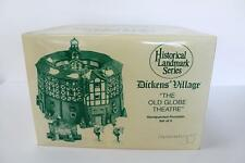 Dept 56 Dickens Village The Old Globe Theatre (Set of 4) #56.58501 NIB