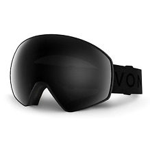 NEW Von Zipper Jetpack Goggles-BBO Black Satin-Blackout+Yellow-SAME DAY SHIPPING