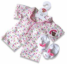 Teddy Bear Clothes fit Build a Bear Teddies Smartie PJs Slippers Bears Clothing