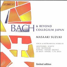 Masaaki Suzuki BACH and Beyond Collegium Japan Limited edition box CD NEW 15disc
