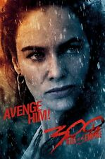 300 RISE OF EMPIRE MOVIE POSTER ~ GORGO AVENGE HIM 24x36 Lena Headey