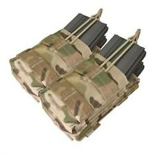 Condor Multicam Double Stacker Open Top Magazine Pouch .223 556 Molle MA43-008