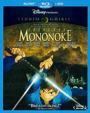Princess Mononoke (Blu-ray/DVD, 2014, 2-Disc Set)NEW FAST SHIPPING