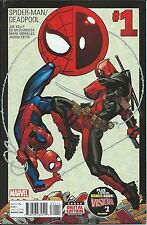 SPIDERMAN DEADPOOL 1 1st PRINT COVER VF- AMAZING DEADPOOL MOVIE SOLD OUT