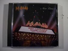 Def Leppard Nine Lives (feat. Tim McGraw) 1-Track Promo-Only Cd Single RARE!